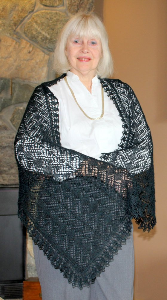 Midnight in Paris Lace Wrap title=