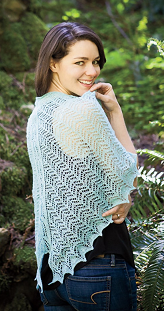 Moth Wings Shawl title=
